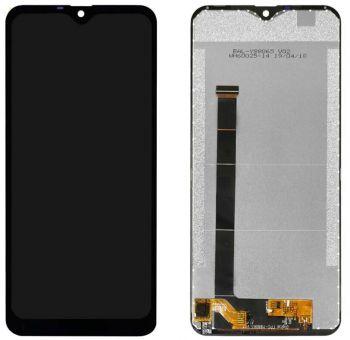 Дисплей Ulefone S11, Note 7 с сенсором (тачскрином) черный Оригинал