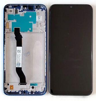 Дисплей Xiaomi Redmi Note 8 M1908C3JG с сенсором (тачскрином) черный с рамкой Оригинал