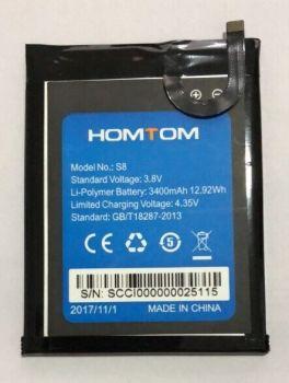 Аккумулятор (батарея) Homtom S8 3400mAh Оригинал