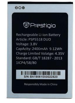 Аккумулятор (батарея) Prestigio PSP5518 Muze X5 Duo LTE 2400mAh Оригинал