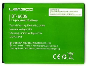 Аккумулятор (батарея) Leagoo M13 BT-6009 3000mAh Оригинал