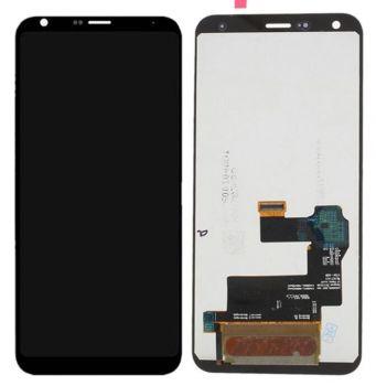 Дисплей LG Q7, Q7 Plus Q610, LMQ610NM с сенсором (тачскрином) черный Оригинал