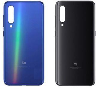 Задняя крышка корпуса Xiaomi Mi9 синяя Оригинал