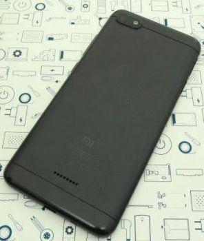 Задняя крышка корпуса Xiaomi Redmi 6A M1804C3CG черная Оригинал
