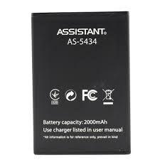 Аккумулятор (батарея) для Assistant AS-5434 Club Оригинал
