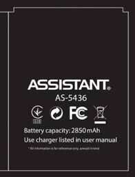 Аккумулятор (батарея) для Assistant AS-5436 Оригинал