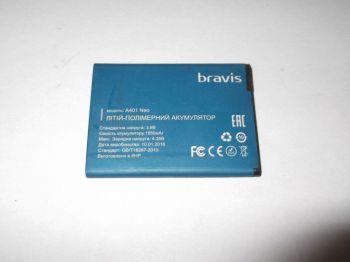 Аккумулятор (батарея) для Bravis A401 Neo 1650 mAh Оригинал