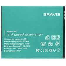Аккумулятор (батарея) для Bravis BIZ 1400 mAh Оригинал