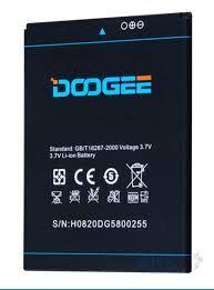 Аккумулятор (батарея) для Doogee DG580 Kissme 2500mAh Оригинал