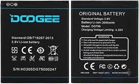 Аккумулятор (батарея) для Doogee DG750 Iron Bone 2000mAh Оригинал