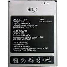 Аккумулятор (батарея) для Ergo A556 Оригинал
