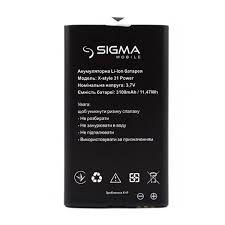 Аккумулятор (батарея) для Sigma X-Style 31 POWER Оригинал