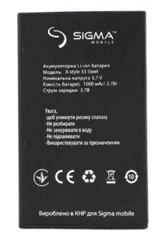 Аккумулятор (батарея) для Sigma X-Style 33 STEEL Оригинал