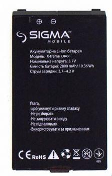 Аккумулятор (батарея) для Sigma X-Treme DR68 Оригинал