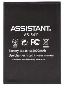 Аккумулятор (батарея) Assistant AS-5411 Max Dual Sim 2000mAh Оригинал