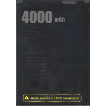 Аккумулятор (батарея) Doogee X100 4000mAh Оригинал