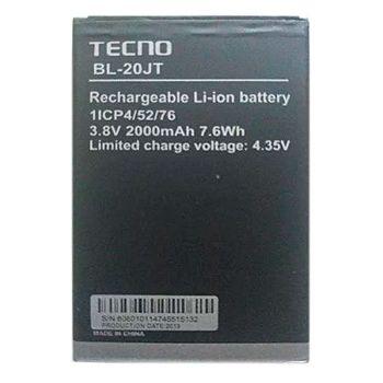 Аккумулятор (батарея) Tecno F1, Tecno F2, Tecno F2 LTE BL-20JT 2000mAh Оригинал
