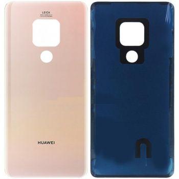 Задняя крышка корпуса Huawei Mate 20 HMA-L09, HMA-L29, HMA-AL00 розовая Оригинал