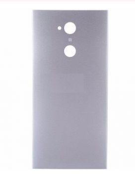 Задняя крышка корпуса Sony H4113, H3113, H4133, H3123, H3133 Xperia XA2 серебристая Оригинал