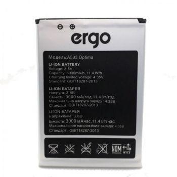 Аккумулятор (батарея) Ergo A503 Optima Dual Sim 3000mAh Оригинал