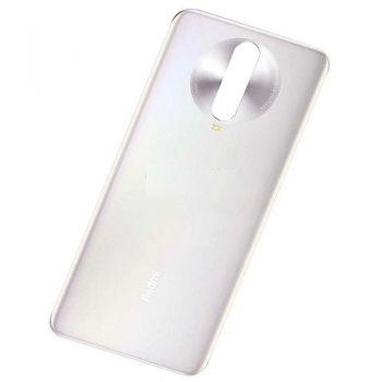 Задняя крышка корпуса Xiaomi Redmi K30, Redmi K30 5G M1912G7BE, M1912G7BC белая Оригинал