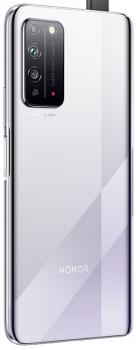 Задняя крышка корпуса Huawei Honor X10 5G TEL-TN00, TEL-AN00, TEL-AN10 серебристая Оригинал