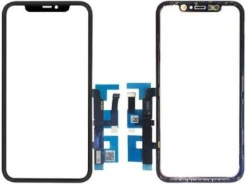 Сенсор (тачскрин) для Apple iPhone 11 A2221, A2111, A2223 черный Оригинал