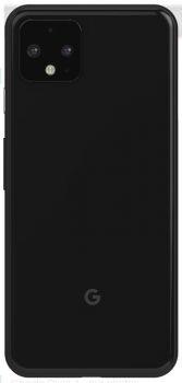 Задняя крышка корпуса Google Pixel 4 G020M, G020I черная Оригинал