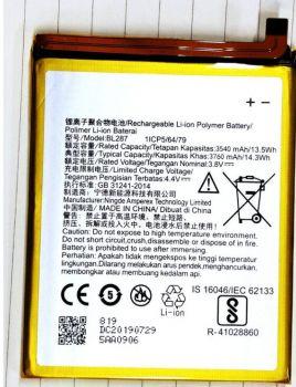 Аккумулятор (батарея) Lenovo K5 Note L38012, K9 Note BL287 3760mAh Оригинал