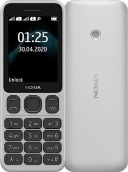 Корпус Nokia 125 Dual Sim TA-1253 белый Оригинал