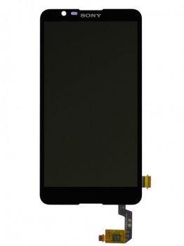 Дисплей (LCD) Sony E2104 Xperia E4, E2105, E2115, E2124 с сенсором чёрный Оригинал