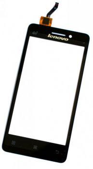 Сенсор (тачскрин) для Lenovo A360T чёрный Оригинал