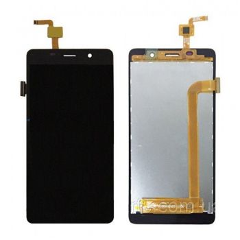 Дисплей (LCD) Bravis A504, X500 Trance Pro, Leagoo M5, Assistant AS-5433 c сенсором черный Оригинал