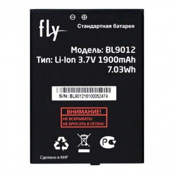 Аккумулятор (батарея) Fly FS508 Cirrus 6, FS509 Nimbus 9 BL9012 1900mAh Оригинал