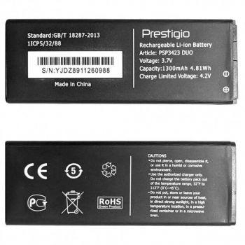 Аккумулятор (батарея) Prestigio PSP3423 Wize R3 Duo 1300mAh Оригинал