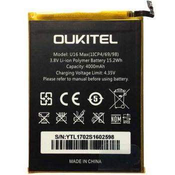 Аккумулятор (батарея) Oukitel U16 Max 4000mAh Оригинал