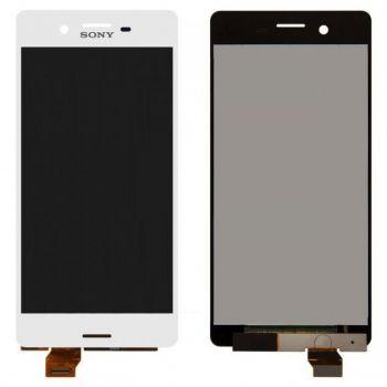 Дисплей (LCD) Sony F5121 Xperia X, F5122, F8131, F8132 с сенсором белый Оригинал