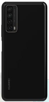 Задняя крышка корпуса Huawei P smart 2021, Y7a PPA-LX2, PPA-L22 черная Оригинал