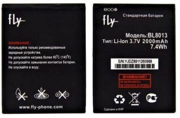 Аккумулятор (батарея) Fly FS506 Cirrus 3 BL8013 2000mAh Оригинал