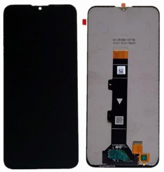 Дисплей Motorola XT2128, XT2128-1, XT2128-2 Moto G20, XT2129, XT2129-1, XT2129-2 Moto G30 с сенсором (тачскрином) черный Оригинал