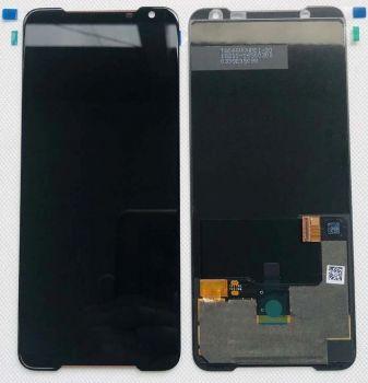 Дисплей Asus ZS660KL ROG Phone 2 I001D, I001DA, I001DE, I001DC, I001DB, I001D с сенсором (тачскрином) черный Оригинал