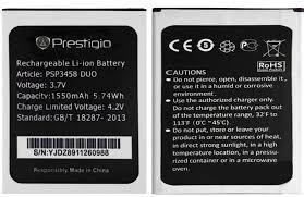Аккумулятор (батарея) для Prestigio 3458, 3459, 3468 Оригинал
