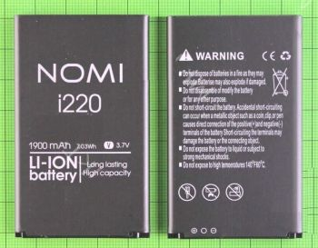 Аккумулятор (батарея) для Nomi i220 1900mAh Оригинал