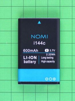 Аккумулятор (батарея) Nomi i144c 600mAh Оригинал