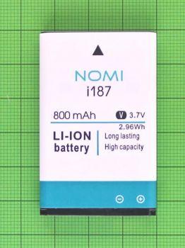 Аккумулятор (батарея) Nomi i187 800mAh Оригинал
