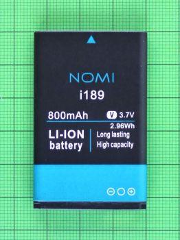 Аккумулятор (батарея) Nomi i189 800mAh Оригинал
