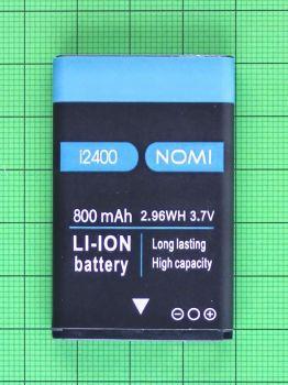 Аккумулятор (батарея) Nomi i2400 800mAh Оригинал
