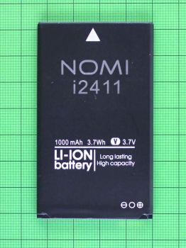 Аккумулятор (батарея) Nomi i2411 1000mAh Оригинал