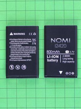 Аккумулятор (батарея) Nomi i2420 800mAh Оригинал