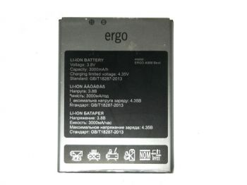 Аккумулятор (батарея) Ergo A500 Best Dual Sim 3000mAh Оригинал
